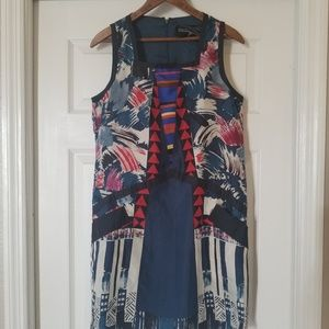 Twelve by Twelve silk shift dress